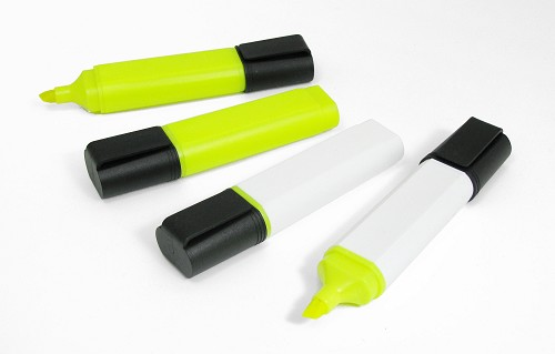 Highlighters gerecycled plastic
