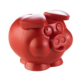 Piggy small spaarpot gerecycled plastic