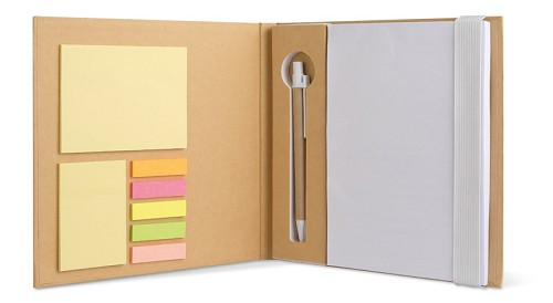 Jones - schrijfboek met sticky notes