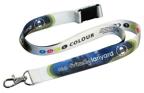 Luxe gerecycled PET Lanyard