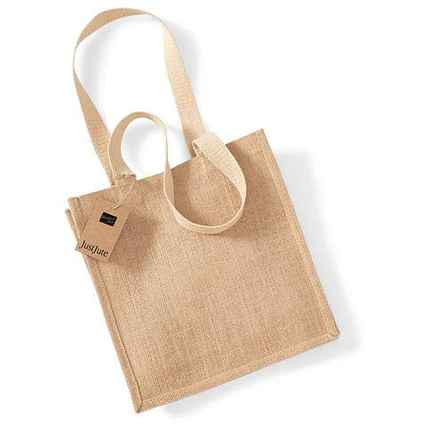 Compacte jute shopper - Westford Mill